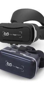 Lunettes VR en plastique avec logo